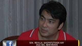 24 Oras: Sen. Revilla, nagpatutsada kay DILG Sec. Mar Roxas