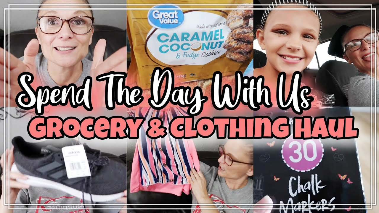DITL | Grocery & Clothing Haul | Spend the day with us