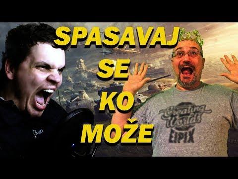 Spasavaj se ko može - NoLifer i  Kojot igraju World of Tanks powered by Telenor.rs