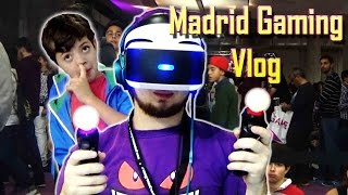 ¡FLIPO CON LA REALIDAD VIRTUAL! | Vlog Madrid Gaming Experience