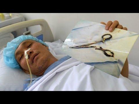 Vietnamese lebt 18 Jahre lang mit Schere im Bauch
