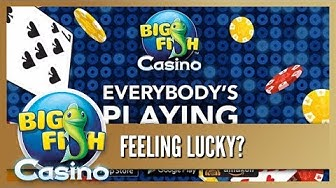 Big Fish Casino for iOS, Android & PC! Free Slots, Poker, Dice & More!