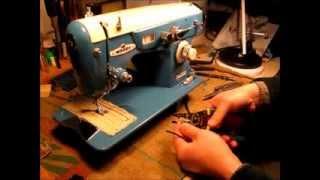 Morse DeLuxe Zig Zag Motor Controller Installation