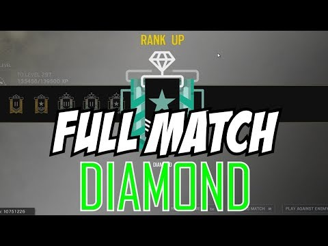 Rainbow Six Siege Full Match Diamond Rank Up Reaction Gameplay Operation Health