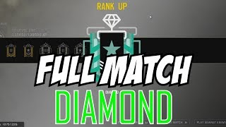 Rainbow Six Siege Full Match Diamond Rank Up Reaction Gameplay Operation Health
