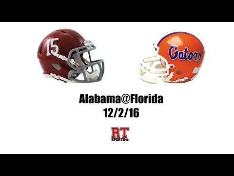 Alabama Crimson Tide at Florida Gators in 30 Minutes - 12/3/16