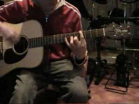 There There - Radiohead. On guitar