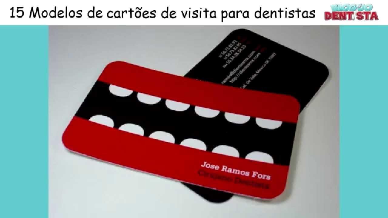 Modelos de cart es de visita para dentistas youtube for Modelos de mamparas para duchas