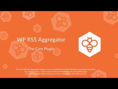 WP RSS Aggregator : Core Plugin (OLD)