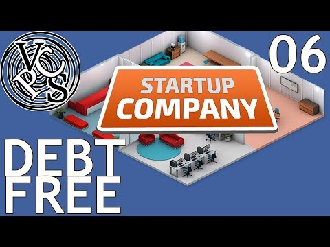 Debt Free : Let's Play Startup Company EP06 - Beta 12 Software Developer Tycoon Gameplay