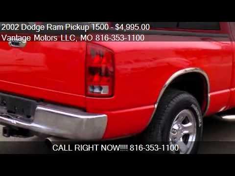 2002 dodge ram pickup 1500 st quad cab new tires carfax guar youtube. Black Bedroom Furniture Sets. Home Design Ideas