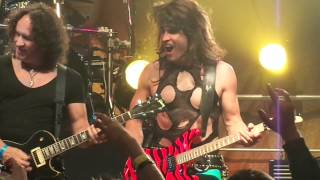 STEEL PANTHER VIVIAN CAMPBELL DIO RAINBOW IN THE DARK HOUSE OF BLUES 5 28 2012