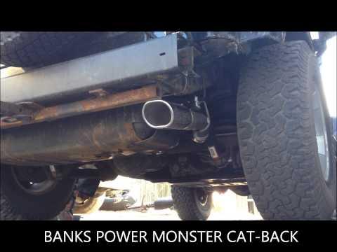 Jeep TJ banks power catback 4.0L