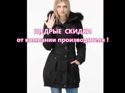 Куртка парка женская с натуральным мехом 2018 - YouTube
