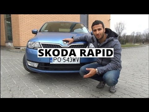 Skoda Rapid 1.6 TDI 105 KM, 2013 - test AutoCentrum.pl #056