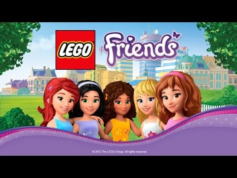 LEGO® FRIENDS Dress Up Game iOS Gameplay