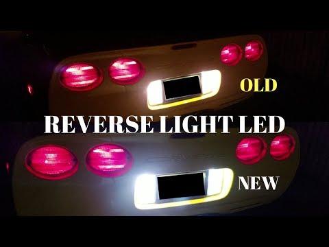 4th C5 Corvette Mod: LED Reverse/Backup Lights