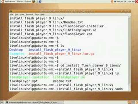 Installing Flash Plugin For Firefox On Ubuntu Linux