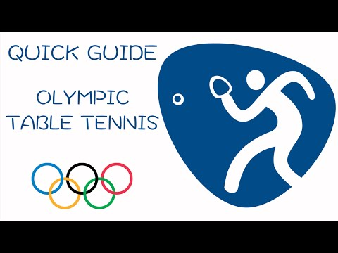 Quick Guide to Olympic Table Tennis
