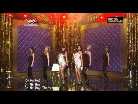 [LIVE] Sistar 19 Ma Boy 中文拼音(空耳)