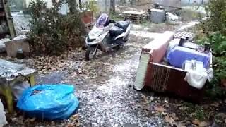 снег в Яготине