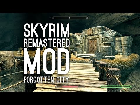 Skyrim Xbox One Mod The Forgotten City ENDING: Let's Play Skyrim Remastered Mods (Ep. 3)