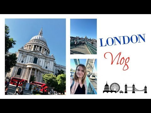 Shakespeare's Globe, St. Paul's Cathedral & Tower Bridge // Summer Vlog