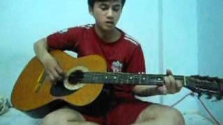 """Guitar solo """"Cát Bụi"""" - Tôn Vũ Thân"""