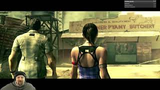 Resident Evil 5 - Lets Play - Part 1 - Two Player Co-op - The Journey Begins