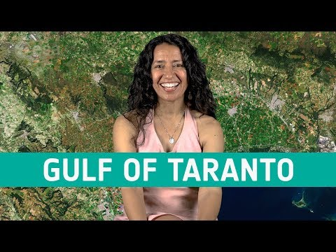Earth from space: Gulf of Taranto