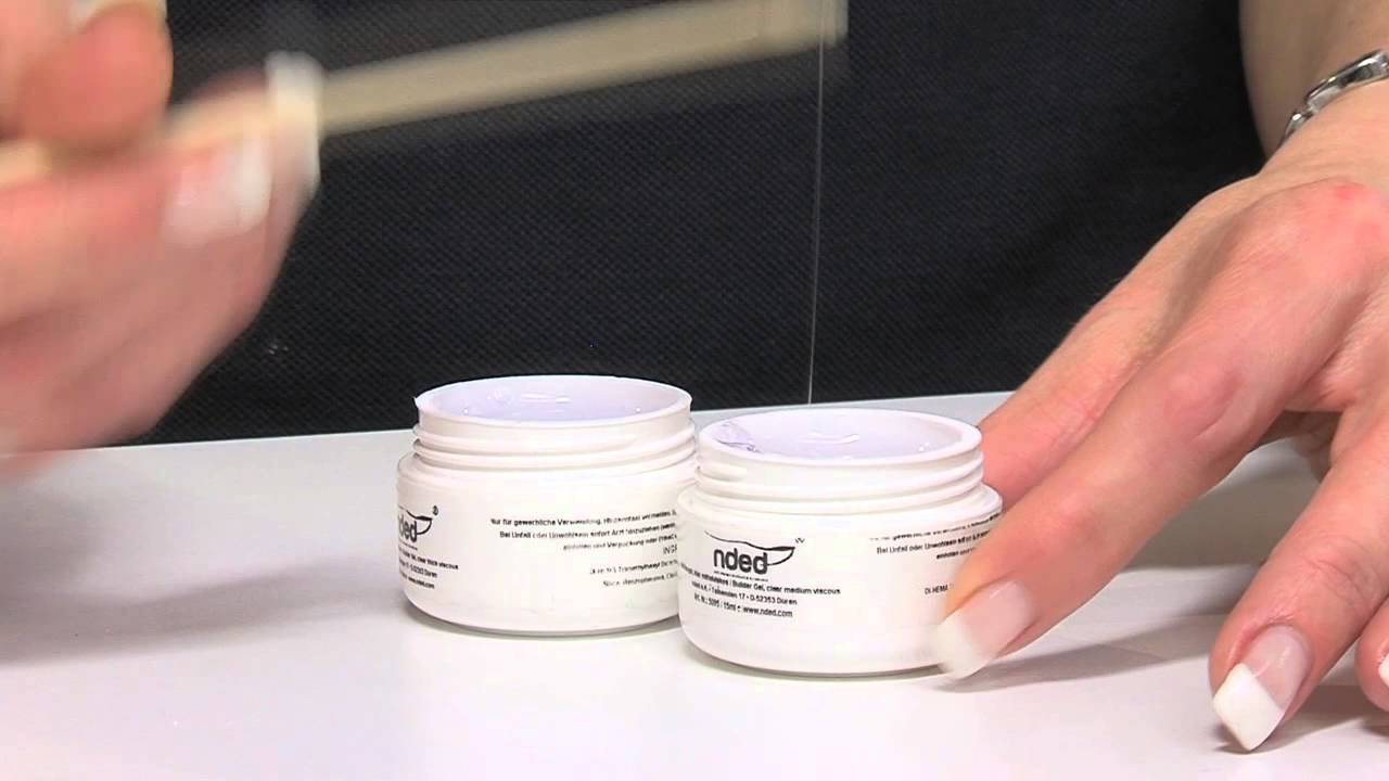 UV Building Gel & LED Builder Gel Product Video | nded com