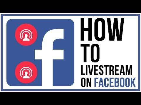 How To Live Stream On Facebook - Facebook Tutorial