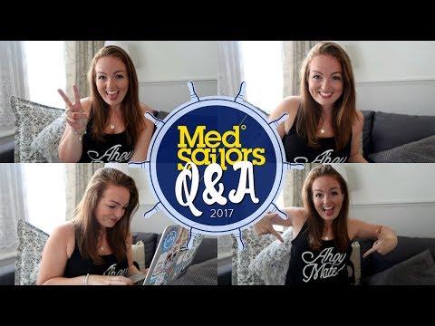 MEDSAILORS Q&A | GOING SOLO, SPENDING MONEY & MORE! ⚓️ | Brogan Tate