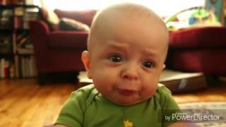 Top4 funny baby photos (1stCOMEDY)