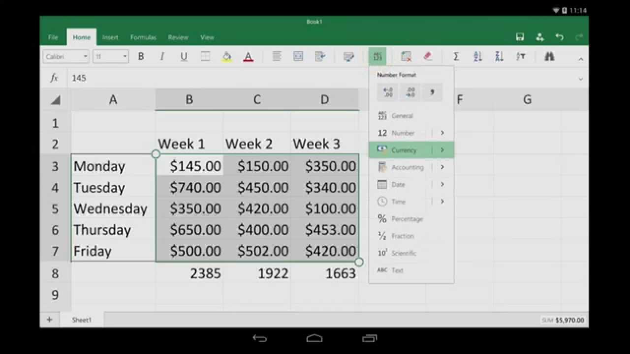 Sofa Score Calculator Excel Traditional Styles For Android Tablet Getting Started Youtube