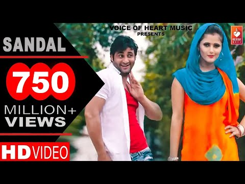 ✓ Sandal | सैंडल | Haryanvi DJ Song 2016 | Vijay Varma | Anjali Raghav | Raju Punjabi | VR Bros: SANDAL New Most Popular Haryanvi DJ Song 2016. Starring with Vijay Varma and Anjali Raghav. Sung by Raju Punjabi. Directed by Vijay Varma. Music Label by Voice of Heart Music.  Song: SANDAL ( FULL HD ) Artist: Vijay Varma, Anjali Raghav, Raju Punjabi, Sompal Kashyap, Sonika Singer: Raju Punjabi Music: VR Bros Lyrics: Samunder Singh Director: Vijay Varma D.O.P: Amit Bisnoi Camera :- Freez Frame Production A.C.: Suraj Lakhlan   Light Man: Sanjay Beri Khera and Deepak Kharkia Special Thanks: Ajmer Balmbhia, Dr. Manoj, Sushil Mastana, Sompal Kashyap Post Production: SoniBros FX Studio (Noida)  Digital and Online Promotion: Prateek Goyal (7015588214), Navi Baadliwal (9910117138)  Produced By: Renu Bala Panchal Production Head: Vijay panchal, Keshav Dev Music Label: Voice of Heart Music  Production Contact Mr. Sanjay Panchal (MD) WhatsApp: 7065010990 Calling: 7065000317, 9253332832  Caller Tune Codes Airtel: 5432116053831 Idea: 567898994057 Vodafone: 8994057   Enjoy & stay connected with us! ► SUBSCRIBE VOICE OF HEART MUSIC: https://goo.gl/IlCnOs ► Like us on Facebook http://facebook.com/voiceofheartmusic ► Follow us on Twitter https://twitter.com/voiceheartmusic  Other Songs by Vijay Varma, Anjali Raghav, Sapna Choudhary ► Dekhan Ki Cheej | New Haryanvi Songs Haryanavi 2018 | Nitin Watts, Anjali Raghav | Ghanu Music - https://youtu.be/7_OUCZ_W52k  ► Palpotan Latest Hot DJ Song 2016 Anjali Raghav, Parveen Ganaur, Sushil Mastana Voice of Heart Music - https://youtu.be/_j0OkORAPdI  ► World's Best Haryanvi Hot DJ Song GHUNGHAT Vijay Varma, Neetu Verma Sapna Studio VOHM -  https://youtu.be/ZvThDLlp9Sk  ► New Most Popular Haryanvi Songs 2016 | BAIRN Sapna Dance | Vickky Kajla, Sapna Chaudhary - https://youtu.be/Jh82ggu0E80  ► Sapna Dance 2016 | Rassa Chid Jyaga | Vickky Kajla, Sapna Chaudhary | New Haryanvi Songs - https://youtu.be/JNO9m6D_q_E