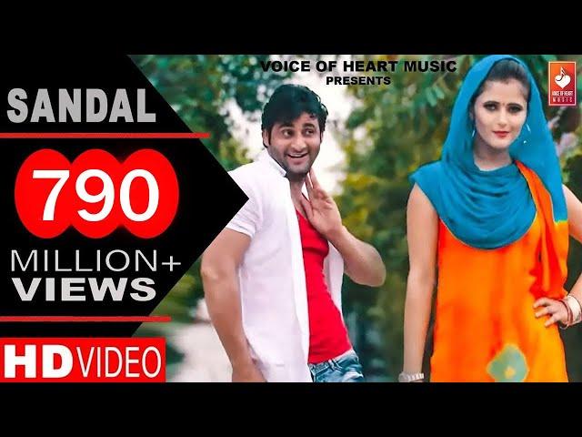 Sandal | सैंडल | Haryanvi DJ Song 2016 | Vijay Varma, Anjali Raghav | Raju Punjabi, Sonika Singh
