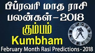 Kumbha Rasi (Aquarius) February Month Predictions 2018 – Rasi Palangal