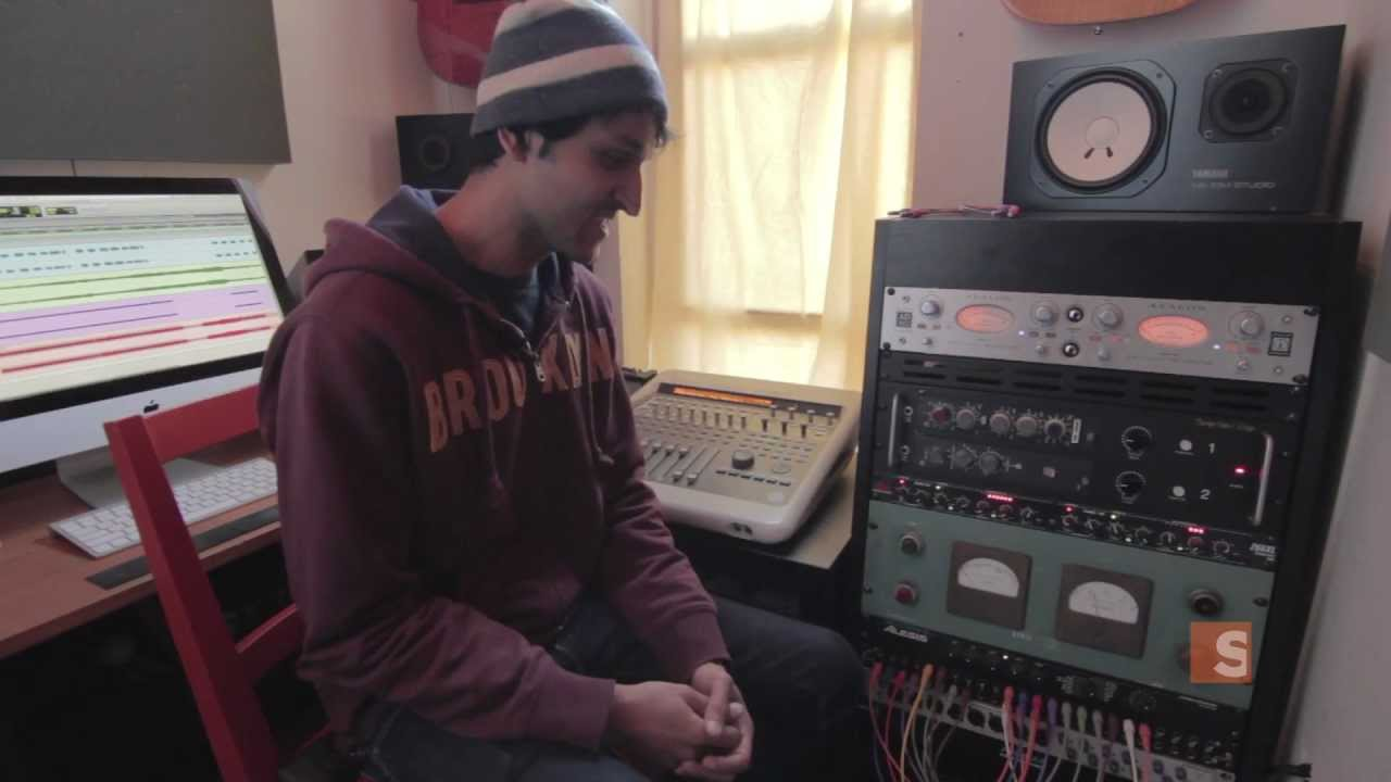 The 66 Sq Ft Apt Turned Music Studio Digital Architect
