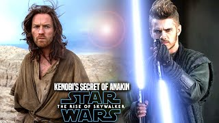 Kenobi's Big Secret Of Anakin Leaked! The Rise Of Skywalker (Star Wars Episode 9)