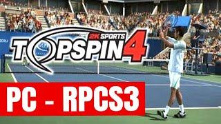 "Top Spin 4 [PC] RPCS3 ""Full Speed"" - Murray vs Nadal (Full Match / Very Hard) Roland Garros"