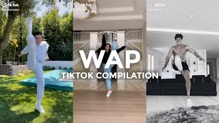WAP - Cardi B ft. Megan Thee Stallion (TikTok Compilation ft. Addison Rae, James Charles, Noah Beck)