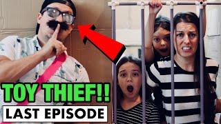ESCAPING the TOY THIEFS BOX FORT TOY JAIL!! Episode 7: Do we get our LOL SURPRISE DOLLS? (24 Hours)