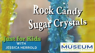 Just for Kids STEM Activities: Rock Candy Sugar Crystals