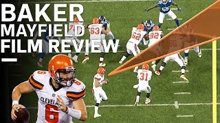 Breaking Down Baker Mayfield's NFL Debut | Film Review | NFL Network