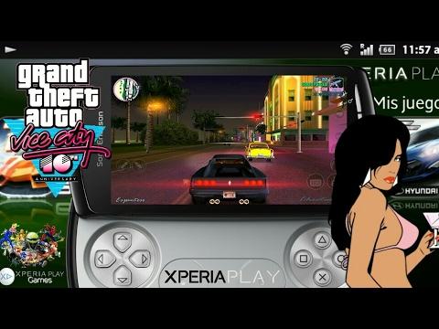 Gta Vice City para Xperia Play (Official Xperia Play Games)