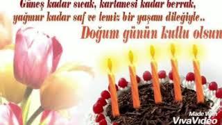 Kısa DOĞUM GÜNÜ videosu