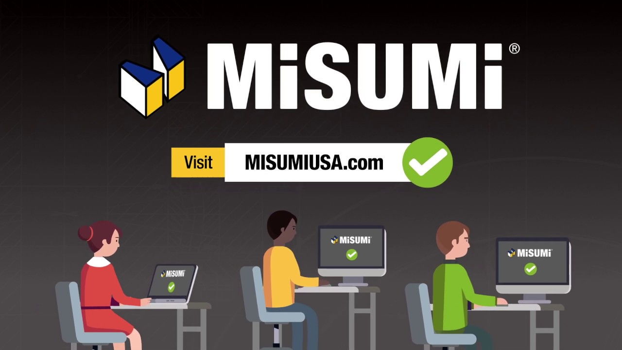 MISUMI USA: Industrial Configurable Components Supply