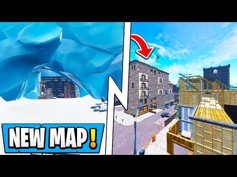 *ALL* Fortnite Season 7 Map Changes! | Secret Cave, New Tilted, Iceberg!
