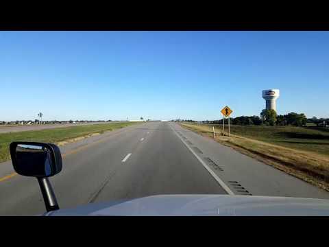 BigRigTravels LIVE! Park City to Ellis, Kansas Interstates 135 & 70-Oct. 11, 2017